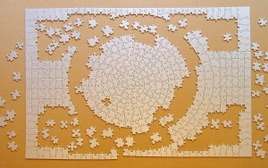 A puzzle without a picture (by Schlurcher, Wiki Commons)
