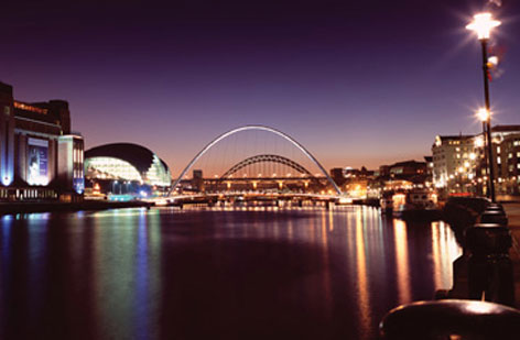 Newcastle-and-Gateshead-Quayside; the site of the 2015 conference