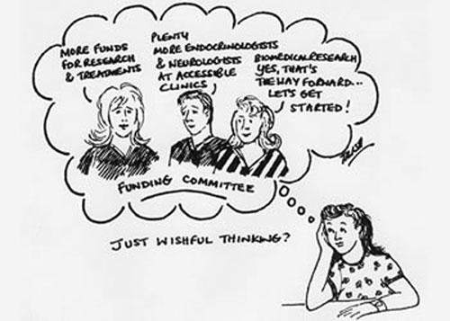 Cartoon by Trish Campbell