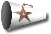 Barnstar-Megaphone