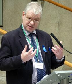 Presenter Gregor Purdie