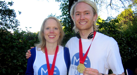 Tom Whittingham with his sister Beth