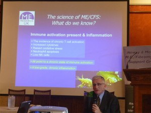 Dr Vance Spence of ME Research UK