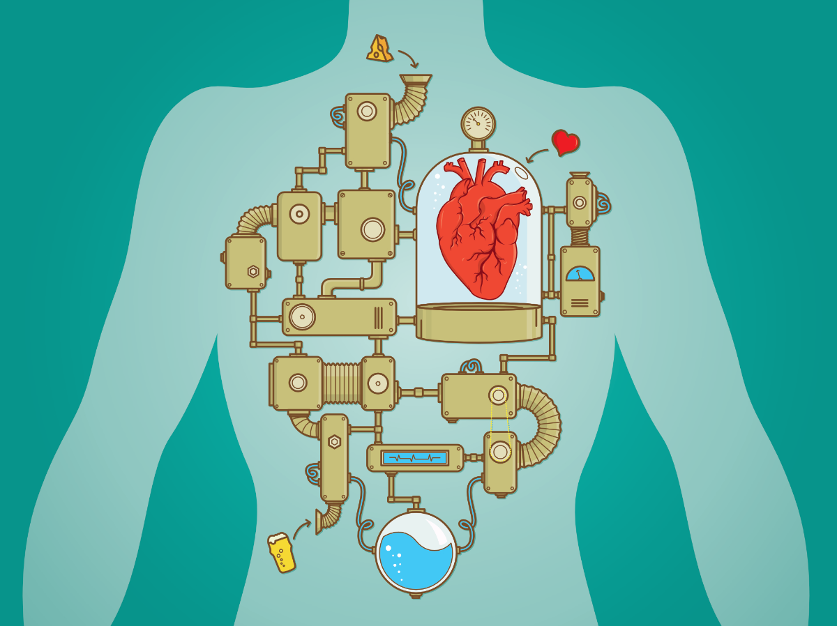 Altered cardiac autonomic regulation